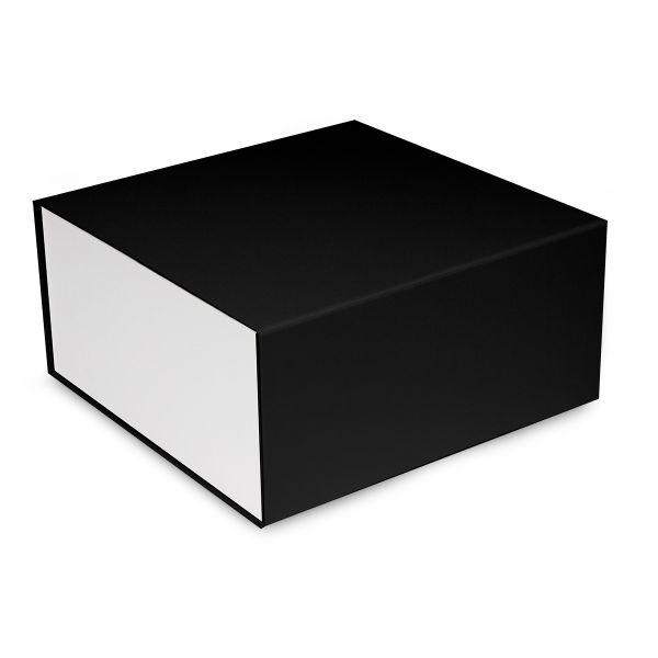 Magnetfaltbox Schwarz/Weiß glossy in 3 Größen
