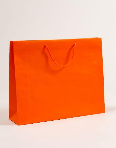 Deluxe Tasche Kraftpapier Orange