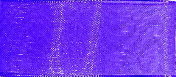Organzaband 10mm/50m Violett