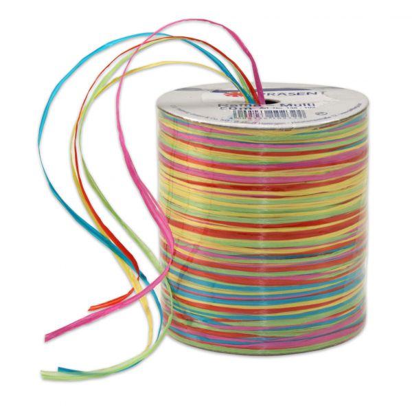 Raffia-Multicolour Regenbogen