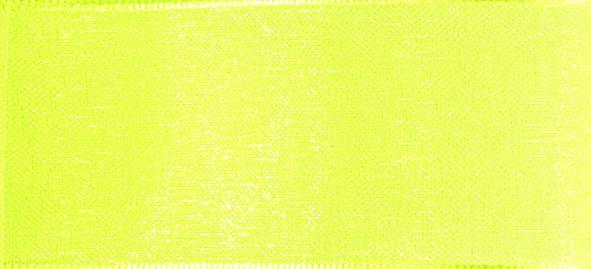 Organzaband 16mm/25m Gelb
