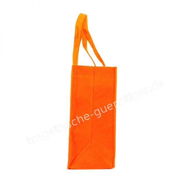 Filz Tragetasche Orange