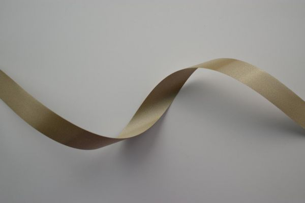 Ringelband 19mm/100m Taupe