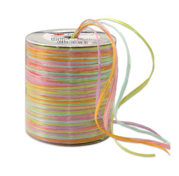 Raffia-Multicolour Maigrün