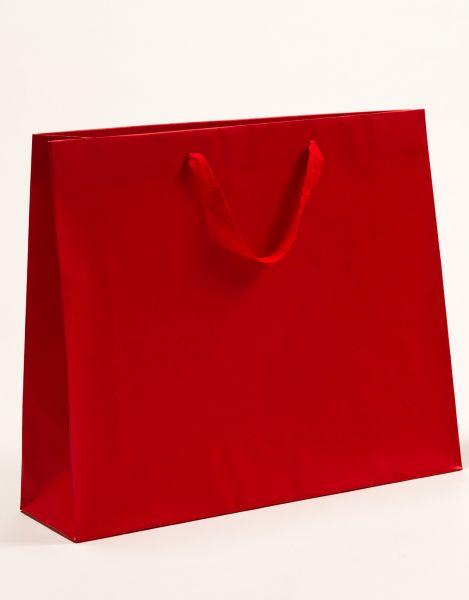 Deluxe Tasche Kraftpapier Rot