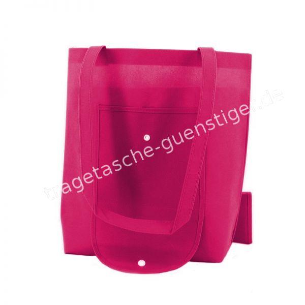 Einkaufstasche Non-Woven Pink