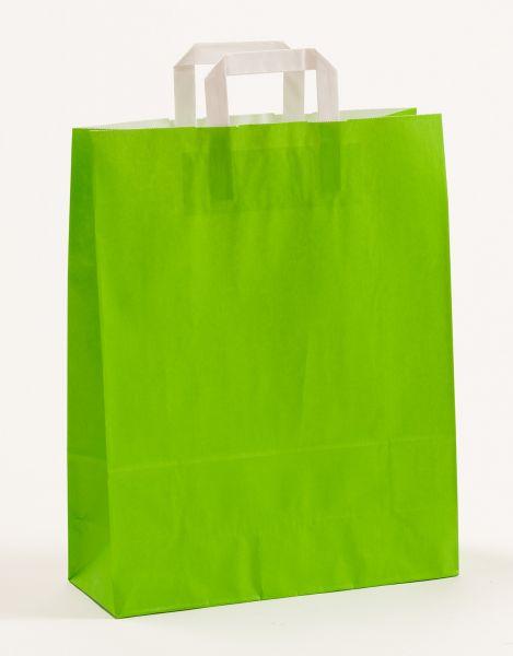Flachhenkeltasche Grün