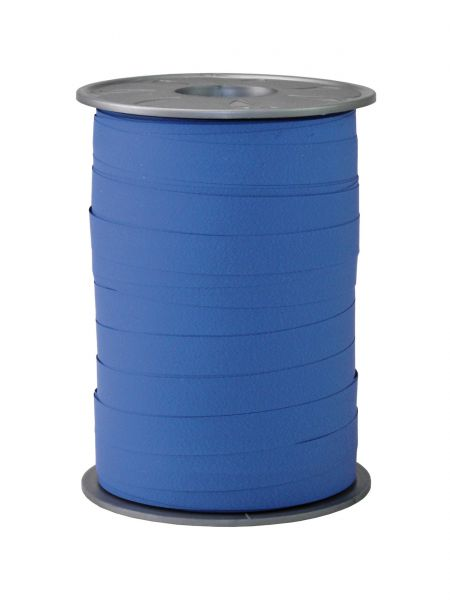 Ringelband Mattoptik Mittelblau