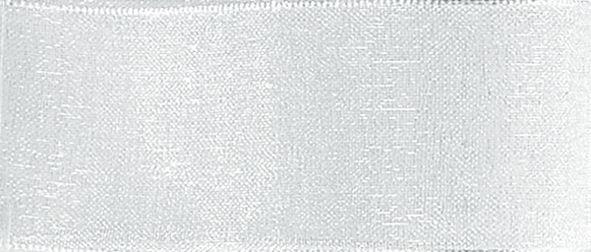 Organzaband 10mm/50m Silber