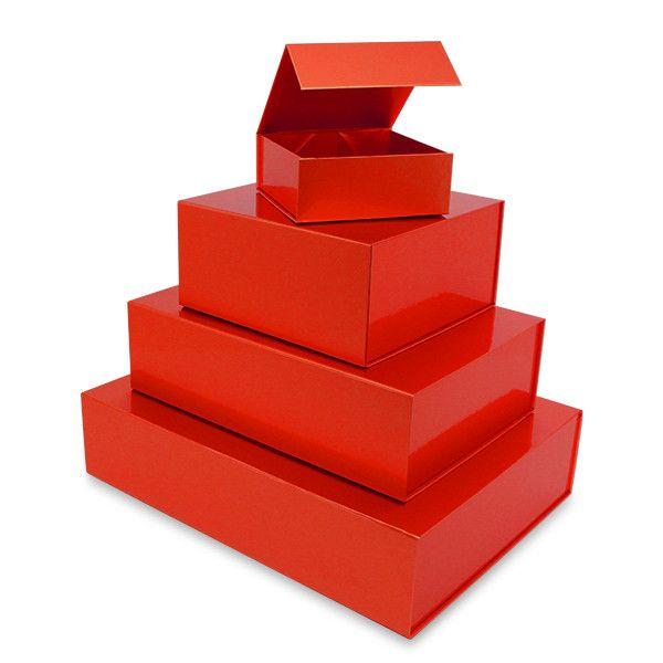 Magnetfaltbox Rot