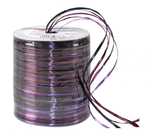 Raffia-Multicolour PEARL Violett