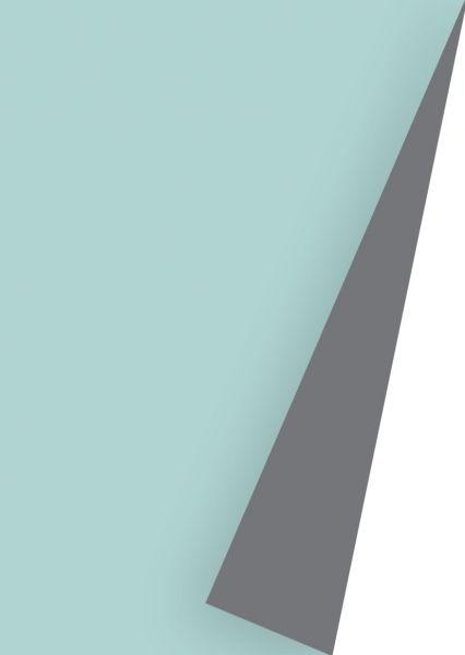 Geschenkpapier Uni Lack Mint/Grau