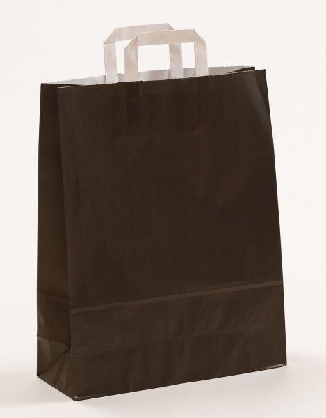 Flachhenkeltasche Schwarz