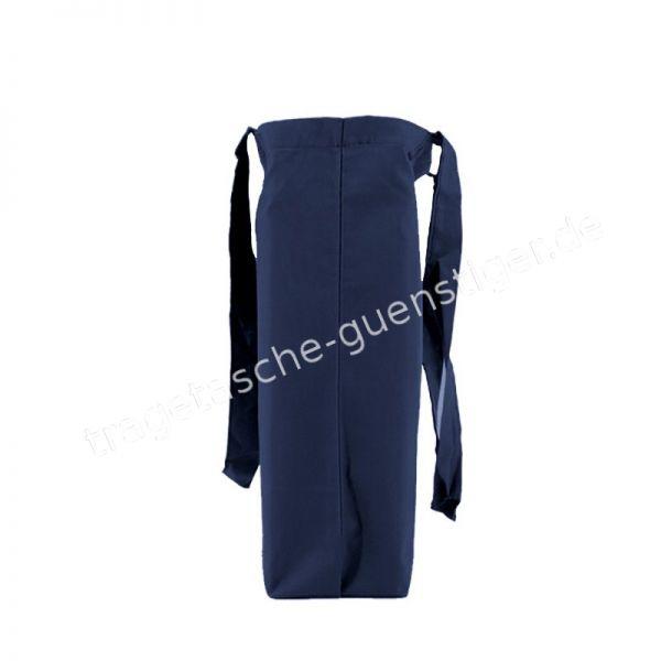 Baumwoll Tragetasche Blau