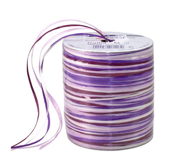 Raffia-Multicolour Violett