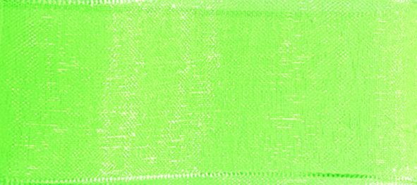 Organzaband 10mm/50m Maigrün