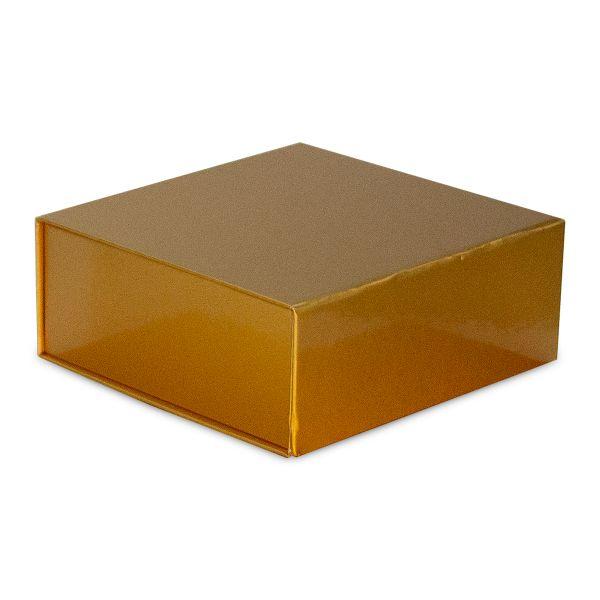 Magnetfaltbox Gold glossy in 3 Größen
