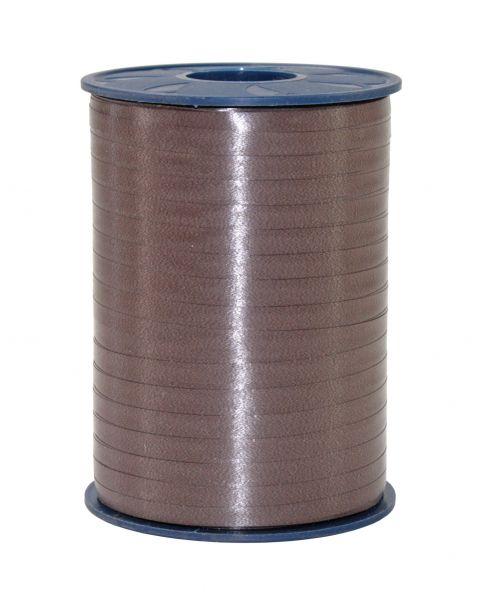 Ringelband 5 mm dunkel Braun