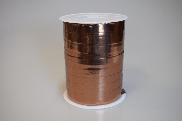 Metallic Ringelband 10mm/250m Kupfer