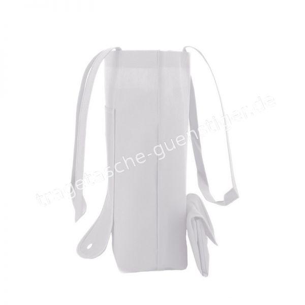 Einkaufstasche Non-Woven Weiß