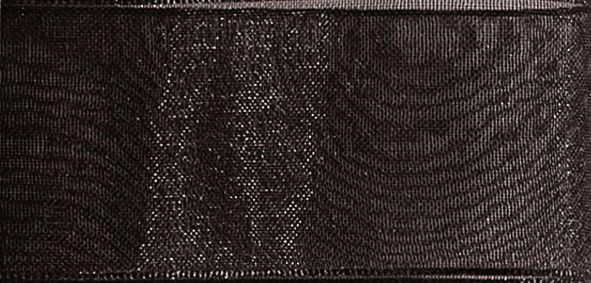 Organzaband 10mm/50m Taupe Intensiv