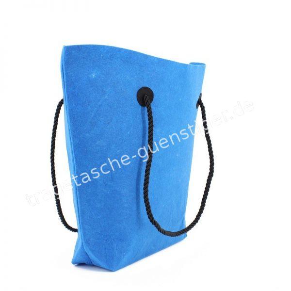 Filz Shopper Blau