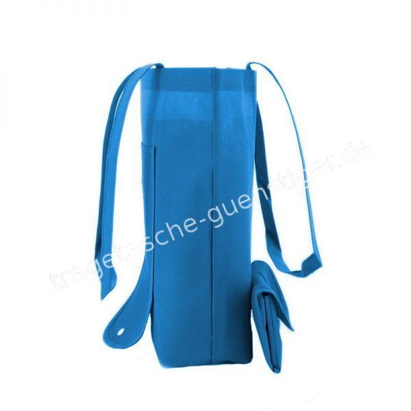 Einkaufstasche Non-Woven Blau