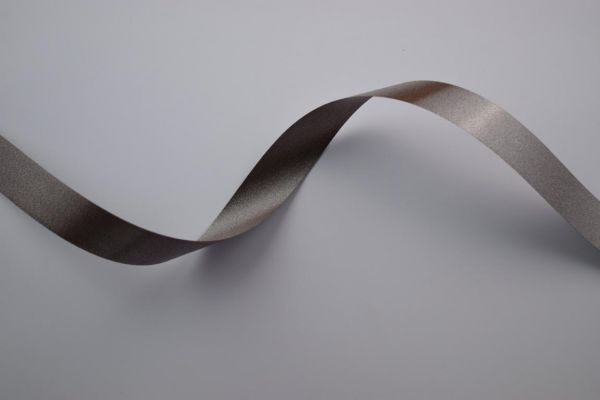 Ringelband 19mm/100m Taupe Intensiv