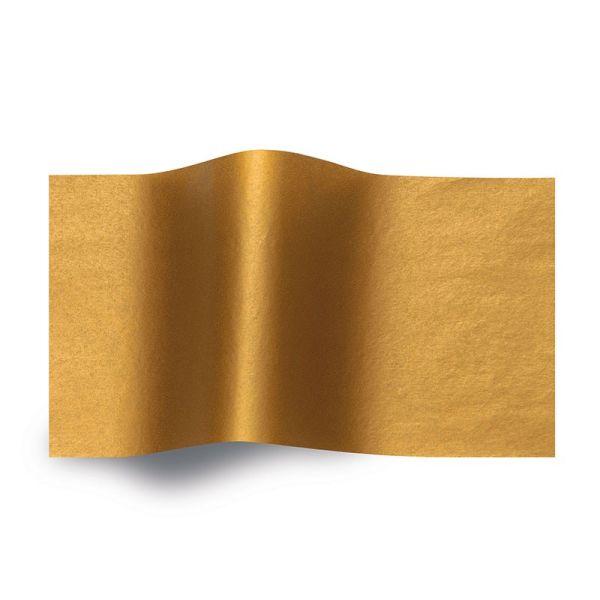 Seidenpapier Metallic Kupfer