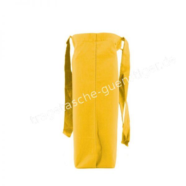 Baumwoll Tragetasche Gelb