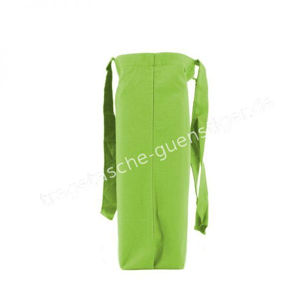 Baumwoll Tragetasche Grün
